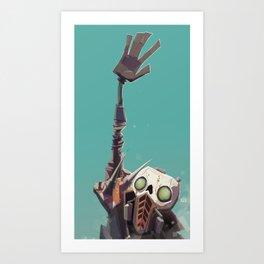Borderlands - STEVE! Art Print