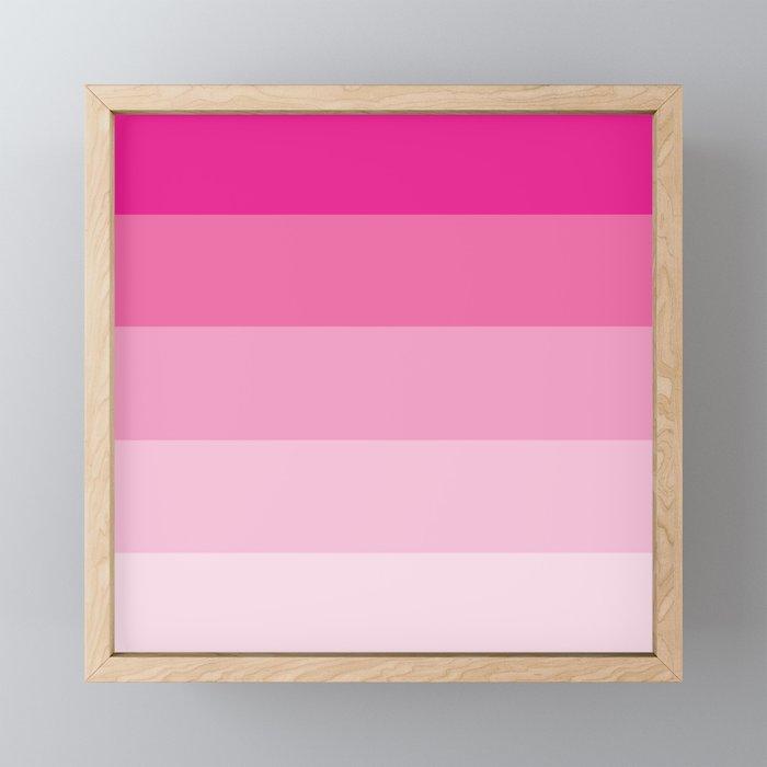 Stripes - Princess Framed Mini Art Print