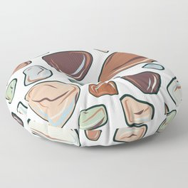 pismo stones Floor Pillow