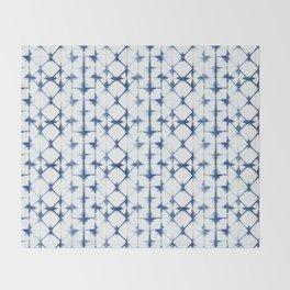 Shibori Thirteen Throw Blanket