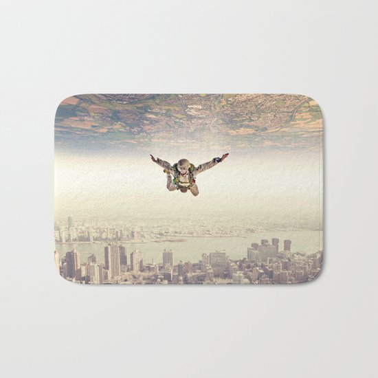 Diving to the Parallel Worlds Bath Mat