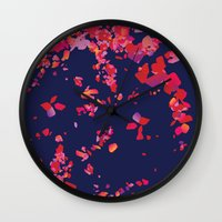 wedding Wall Clocks featuring Wedding by Bomburo