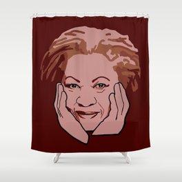 Toni Morrison Shower Curtain
