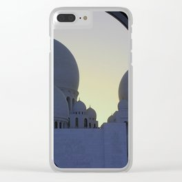 Sheikh Zayed Mosque Clear iPhone Case