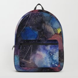 constellations sky with colors Backpack