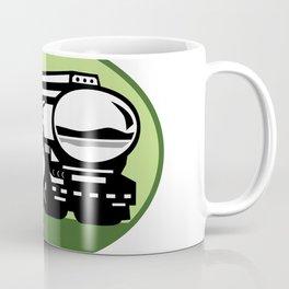 Tig Welder Tanker Truck Oval Coffee Mug