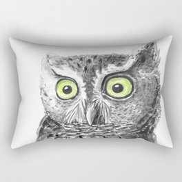 Owl portrait Rectangular Pillow