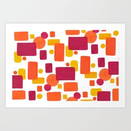 Colorplay No. 1 Art Print