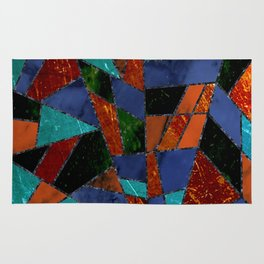 Abstract #447 Lava Flow Rug