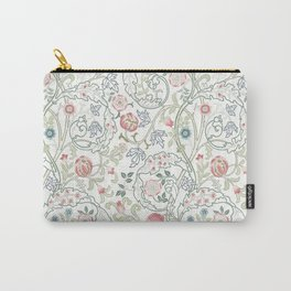 William Morris Pastel Floral Vine Pattern Carry-All Pouch