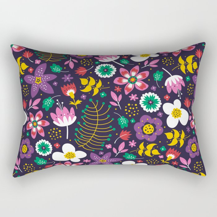 Sweet Viola Rectangular Pillow