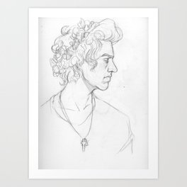 Sketch- Harry Art Print
