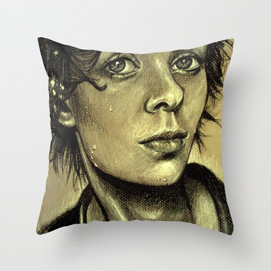 Drenched Breath (VIDEO IN DESCRIPTION!) Throw Pillow