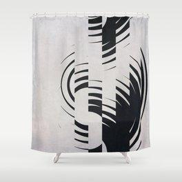 Broken Circles Shower Curtain