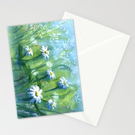 Daisies I Stationery Cards