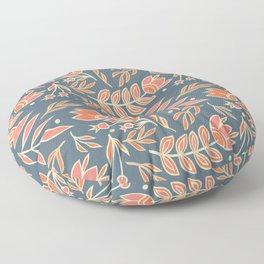 Loquacious Floral Floor Pillow