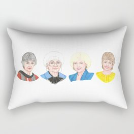 Golden Girls Rectangular Pillow