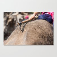 hook Canvas Prints featuring hook by Marcel Derweduwen