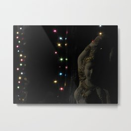 The Light shines in all different colors Metal Print
