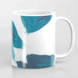 Basquiat Crown, Abstract, Blue Duck Coffee Mug