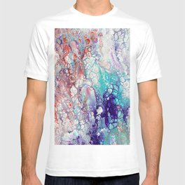 Fantasy (red, blue, purple) T-shirt