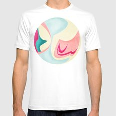 She Knows Mens Fitted Tee White MEDIUM