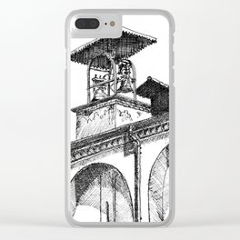 Bell Canopy Milan Clear iPhone Case