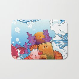 Art Water Bath Mat