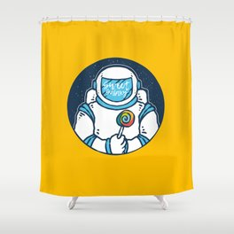 Space Candy Shower Curtain