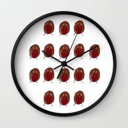 Robbin Around The Christmas Tree.. Wall Clock