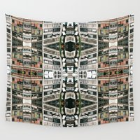barcelona Wall Tapestries featuring BARCELONA by Carlos Violante
