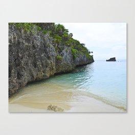 Quiet Lagoon Canvas Print