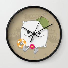 Pillow Talk Wall Clock