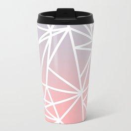Gradient Mosaic 1 Travel Mug