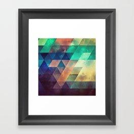 lytr vyk ryv Framed Art Print