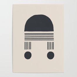 Block Print Poster