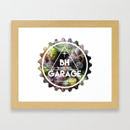 BH GARAGE OG LOGO BONG HITS Framed Art Print