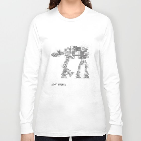 Star Wars Vehicle AT-AT Walker Long Sleeve T-shirt