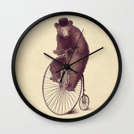 Morning Ride Wall Clock
