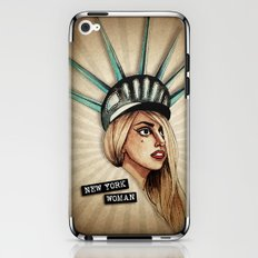New York Woman iPhone & iPod Skin