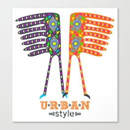 Urban Style Canvas Print