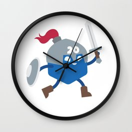 20 Sided Hero Wall Clock