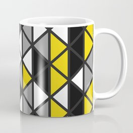 Triangular Vitrail Mosaic Pattern V.09 Coffee Mug