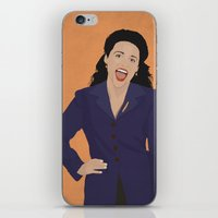 seinfeld iPhone & iPod Skins featuring Elaine Benes // Seinfeld // Graphic Design by Dick Smith Designs