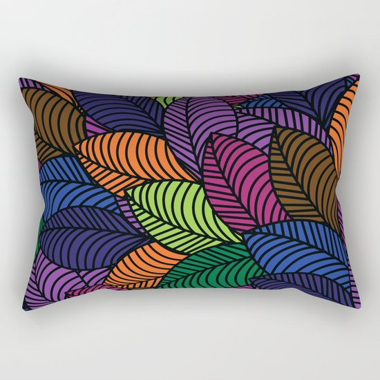 Pattern H Rectangular Pillow