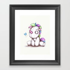 My Little Plushy Framed Art Print
