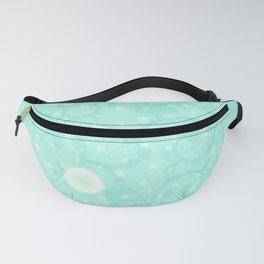 Lady Moons and Stars Pattern Fanny Pack