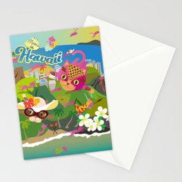 Mews in Hawaii Stationery Cards