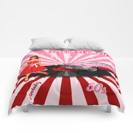 Rock'n Roll the sweet Fifties Comforters