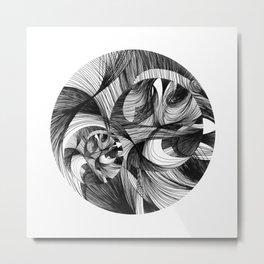 Rinse 2 Metal Print